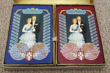 Royal Commonwealth Tour 1954 Double Pack of Worshipful Company of Playing Cards