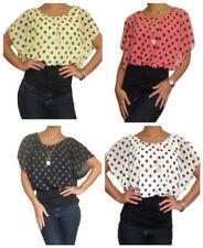 Maglie e camicie da donna viscosa semiaderente taglia taglia unica