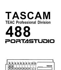 TASCAM 488 PORTASTUDIO Owners / Instructions manual only