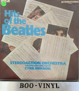 Hits of The Beatles, The StereoAction Orchestra,  Rare 1970 RCA  LP, EX/EX