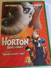Dr. Seuss Horton Hears A Who DVD Movie Jim Carrey Steve Carell