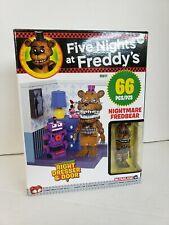 Five Nights At Freddy's FS 66pc Nightmare Fredbear Right Dresser & Door FRE SHIP