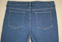 Eddie Bauer Slightly Curvy Jeans Women's Size 12 Medium Wash Denim