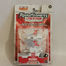 TRANSFORMERS 29514/29522 CYBERTRON ROBOTS IN DISGUISE SILVERBOLT NEU & OVP!