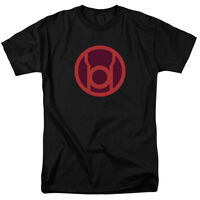 Red Lantern Logo T-Shirt DC Comics Sizes S-3X NEW Green Lantern