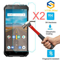 2Pcs 9H Premium Tempered Glass Film Screen Protector For Ulefone Armor X
