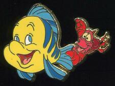 Europe Little Mermaid Box Set Flounder and Sebastian LE 150 Disney Pin 98846