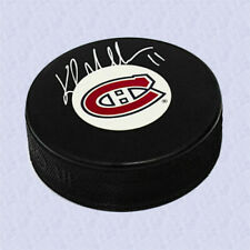 Kirk Muller Montreal Canadiens Autographed Hockey Puck