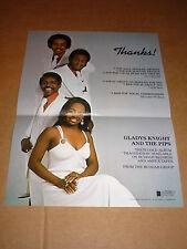 Gladys Knight & Pips 1973 Buddah Records Us Shop Display Poster