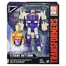 Transformers Generations Titans Return Decepticon HAZARD & BLITZWING Voyager