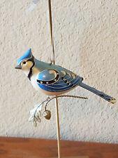 """Blue Jay """"The Beauty Of Birds"""" Hallmark Keepsake Ornament 2007 - Free Shipping"""