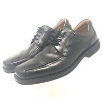 ECCO Men's Oxford  Dress Shoes Size EU 45 US 11 - 11.5 Leather Black