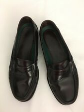 Dexter Comfort Burgandy Leather Slip On Penny Loafers 336673 Mens Size 10M USA