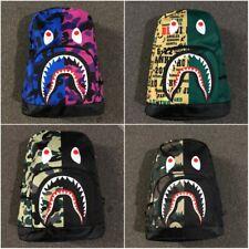 Bape A Bathing Ape Camouflage Backpack Bookbag Student Schoolbag Shoulder Bags