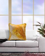 Digital Printed Colorful Reversible Budha Silk Cushion Covers 45x45 Pack of 5