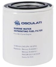 Water Petrol Fuel Separating Filter. Cartridge Only 10 Micron. Mercury Racor