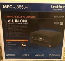 New Brother MFC-J885DW Inkjet Wireless All-In-One 4-in-1 Print Scan Copy Fax AIO
