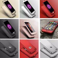 Hybride 360 Neuf Étui Antichocs Verre Trempé COQUE pour Apple Iphone 8 7 5s 6 Se