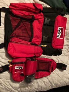 Marlboro backpack with Fanny pack and new water bottle
