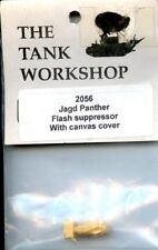 Tank Workshop 1:35 Jagdpanther Flash Suppressor With Canvas Cover #2056