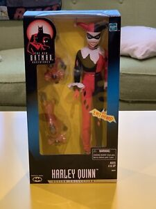"HARLEY QUINN 12"" action figure Hasbro 1998 The New Batman Adventures Animated"