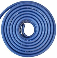4 Gauge Wire Blue Amplifier Power/Ground 4 Ga Amp Wire 25 Feet Cable Roll