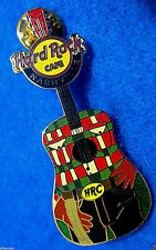 NASHVILLE GIDDY UP COWBOY HRC BELT BUCKLE & RODEO ROPE GUITAR Hard Rock Cafe PIN