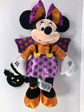 """Disney Store Minnie Mouse 15"""" Plush Halloween Bat Costume Outfit Authentic"""