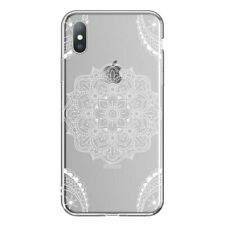 Phone Case For iPhone 6 6S 7 8 Plus X XR XS Max 5 5S SE Mandala Clear Soft Cover