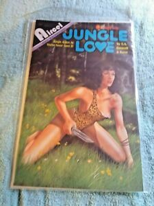JUNGLE LOVE #2 VF Aircel Comics - Adults only - 1991