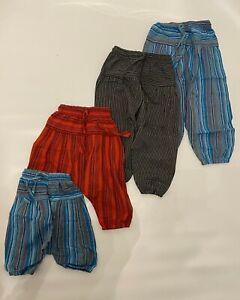 Cotton children's harem pants - Kids hippie trousers