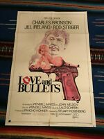 Love and Bullets - Charles Bronson Original 1-Sheet Movie Poster 1978 Sexy Image