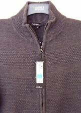 Marks and Spencer Chunky, Cable Knit Zip Cardigans for Men
