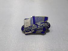 frühe emalliert sibylla brand accordian pin