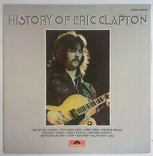 Eric Clapton History of Eric Clapton 2LP Español 1972