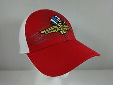 Indianapolis Motor Speedway IMS Wing Wheel & Flags Logo Collector Hat Cap I 500