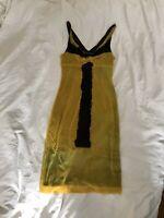 Vivienne Tam RARE Watercolor Mesh Midi Dress - Gaultier style