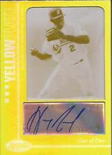 HANLEY RAMIREZ 2007 Bowman's Best Yellow Printing Plate Autograph #1/1 RARE!