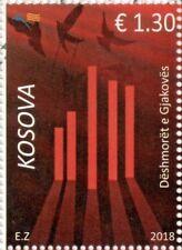Kosovo Stamps 2018. Martyrs of Gjakova. Dove. Birds. Set MNH