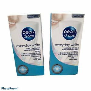 Pearl Drops Everydaywhite X2 Boxes Brand New Still Boxed Teeth Whitening