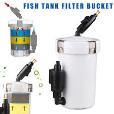 Aquarium Fish Tank External Bucket Filter Canister Adjustable Flow Rate Valve