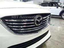 for MAZDA 6 2013-2014-up front grill ABS chrome cover trim garnish