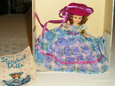 New Vtg Nancy Ann Storybook Doll #195 September's Girl is Like a Storm w/Box Tag