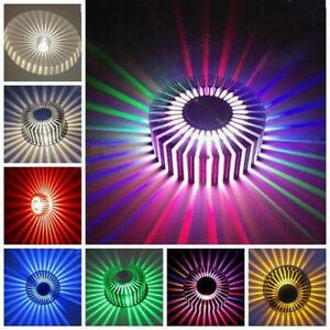 Effekt RGB 3W LED Wandleuchte Spiralen Beleuchtung Flurlampe Innenlampe