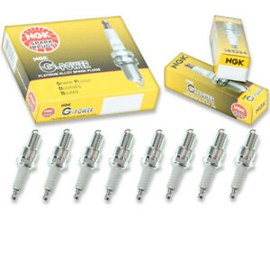 8 pc NGK G-Power Spark Plugs for 1984-1993 Rolls-Royce Silver Spur 6.8L V8 dr