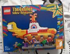 VERY RARE Beatles LEGO Ideas Yellow Submarine (21306) MIB