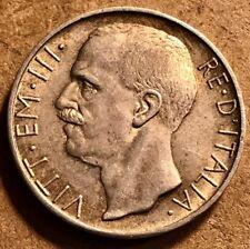 ITALY - Vittorio Emanuele III - 10 Lire - 1929R - Quadriga - About Uncirculated