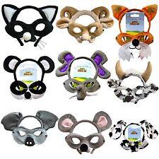 Animal Mask headband Ears Mr Fox Mouse 101 Dalmatians Book Week costume idea