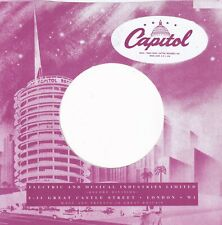 CAPITOL, Company Reproduction Record Sleeves - (pack of 20)