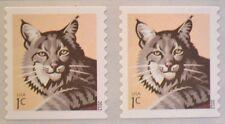 US Scott #4672 BOBCAT Coil Stamp (2012) MNH Single plus Bonus stamp
